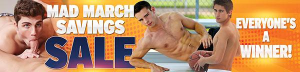 Corbin Fisher March Promo