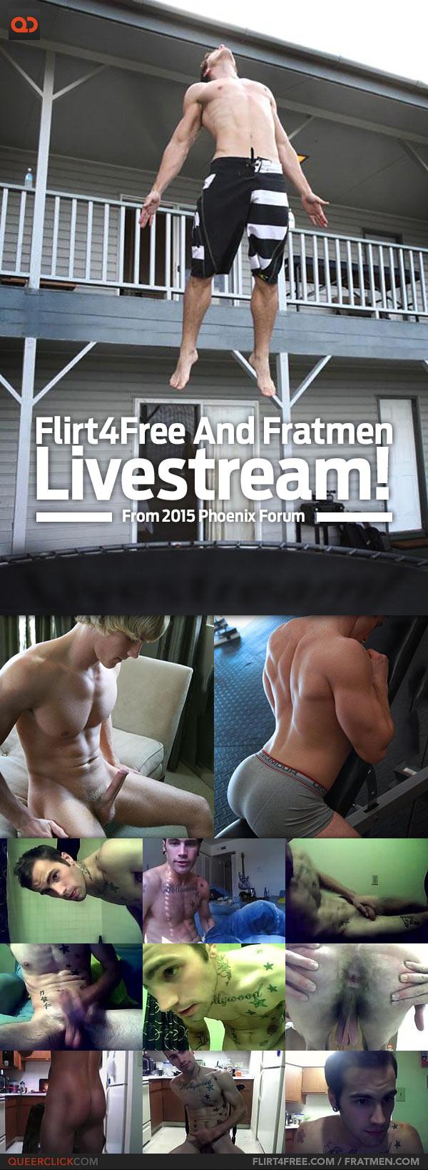 Flirt4Free And Fratmen Livestream From 2015 Phoenix Forum