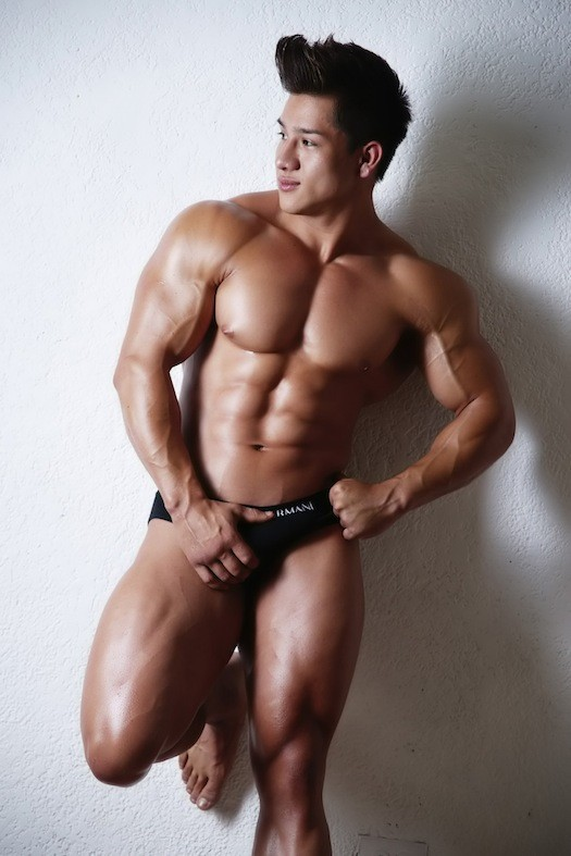 muscle tumblr asian Nude men