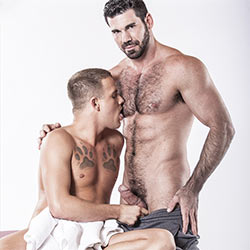 IconMale: Billy Santoro Fucks Brandon Wilde – Gay Massage House 2