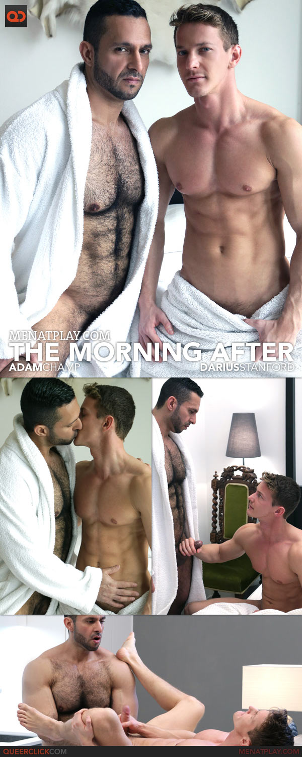 The Morning After Adam Champ And Darius Ferdynand