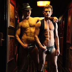 Naked Sword: Brent Corrigan and Chris Harder