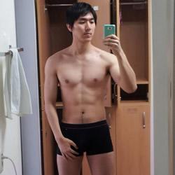 Handsome Dude's Naked Selfie