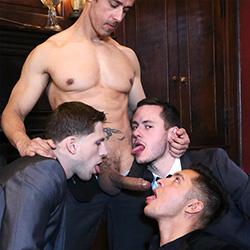 Men.com: Rafael Alencar,  Brenner Bolton, Seth Santoro, and Roman Todd