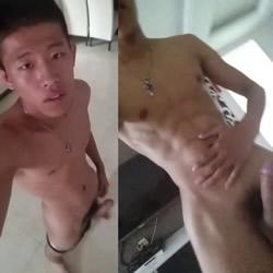 Asian Amateur Videos: Big-Dicked Asian Hottie
