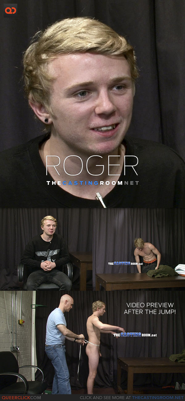 The Casting Room: Roger