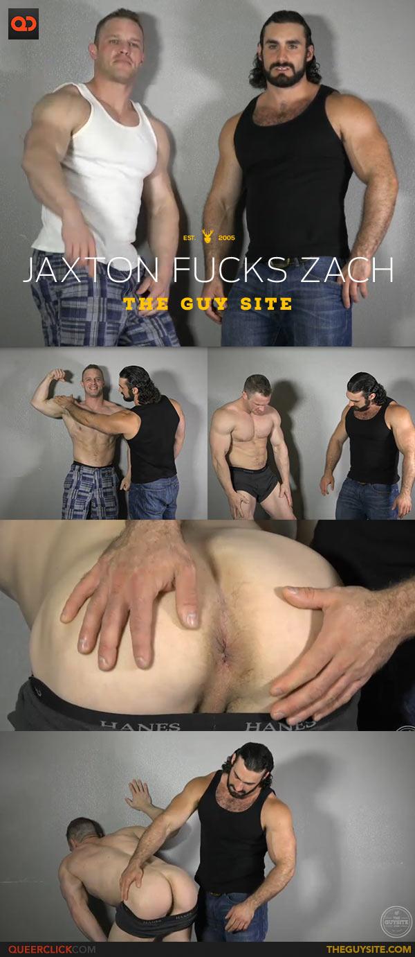The Guy Site: Jaxton Wheeler Fucks Zach