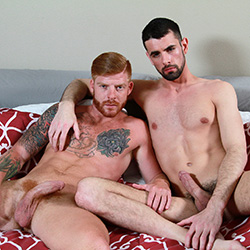 Men.com:  Bennett Anthony and Jake Steel