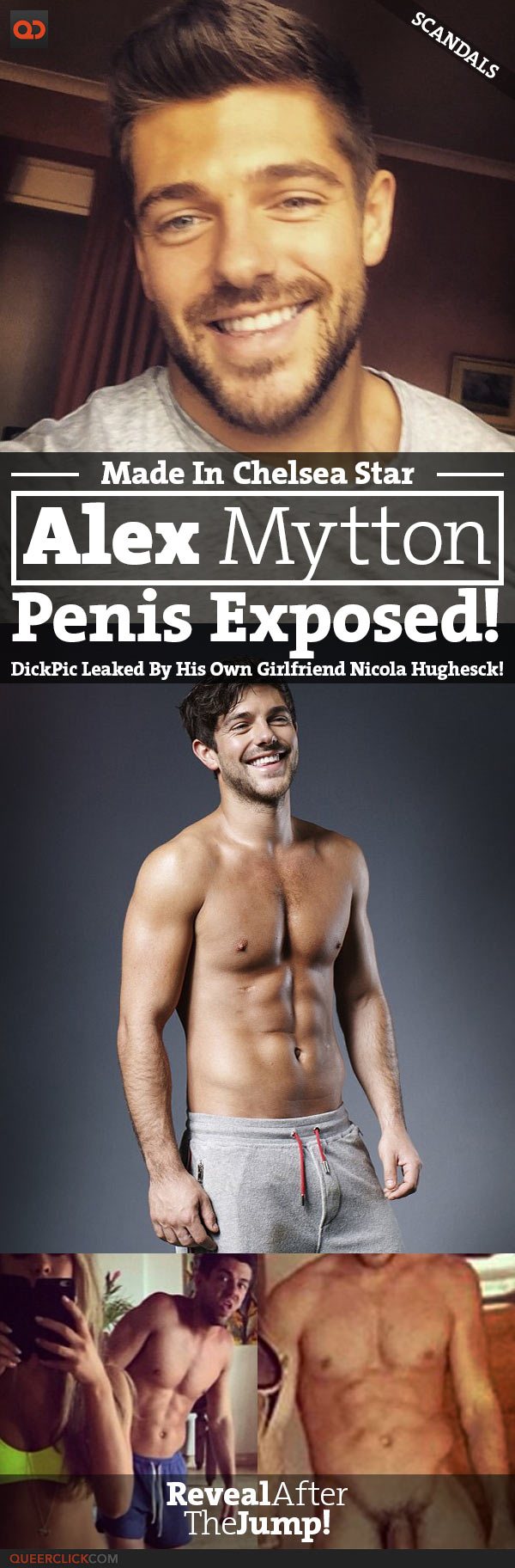 QC Scandals: Alex Mytton's Penis Exposed! Pic Leaked By His Own Girlfriend Nicola Hughes On Instagram