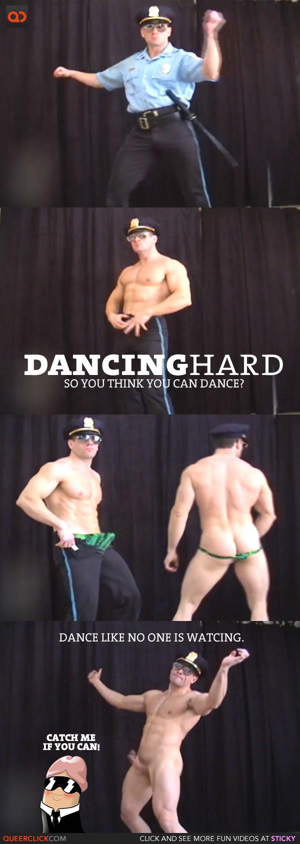 DancingHard policeman dance