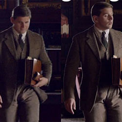 QC Bulge Spotting: Allen Leech Bouncing Bulge!