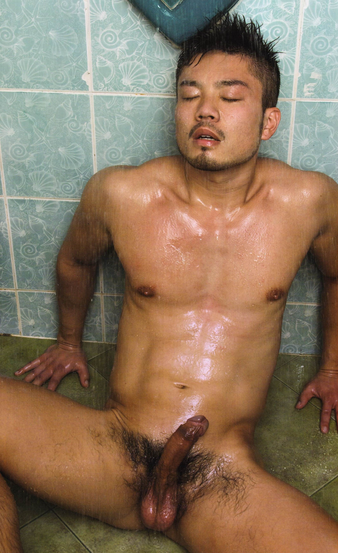 mens nude Japanese