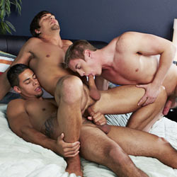 Corbin Fisher: Double Penetrating Aiden