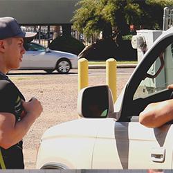 Gayhoopla: Sebastian Hook asks a stranger for a ride home