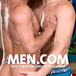 Men.com: Paul Canon and Alexander Gustavo