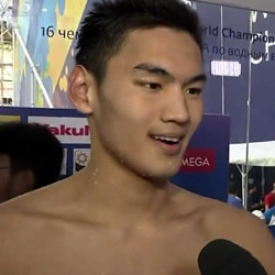 Chinese Swimmer Xu Jiayu