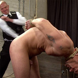 Masculine Hetero Stud's Ass Discipline At BreederFuckers