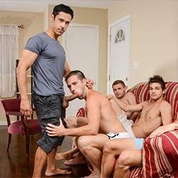 Men.com: Rafael Alencar, Dylan Knight, Jack Radley, Zac Stevens and Johnny Rapid