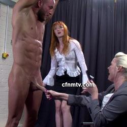 CFNMTV.com – Macho Man Disciplined
