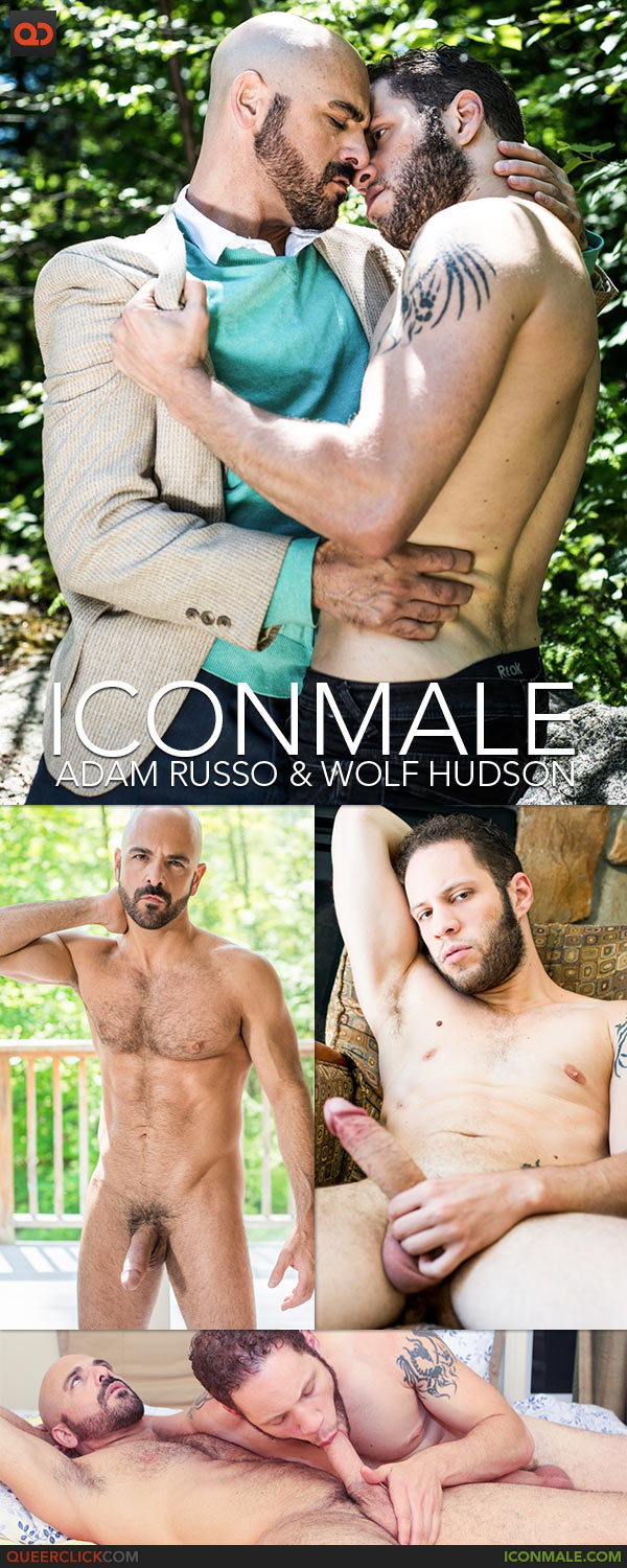 IconMale: Adam Russo and Wolf Hudson