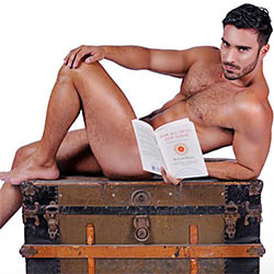 Are You A Book Lover? The Hunks From The #ReadNaked Calendar Will Make You Read More!