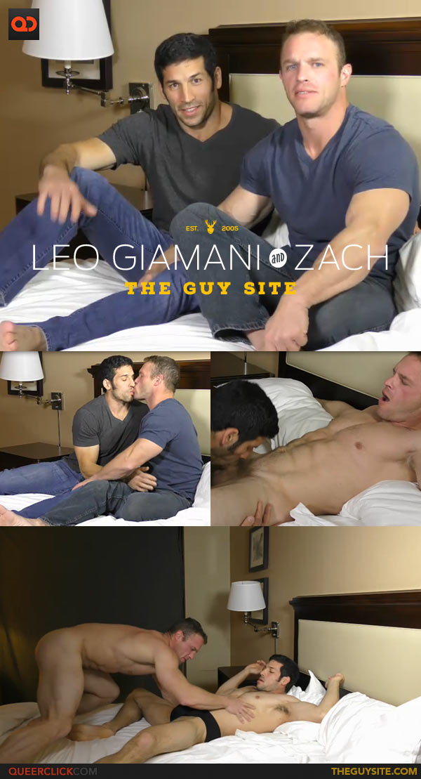 The Guy Site: Leo Giamani Fucks Zach