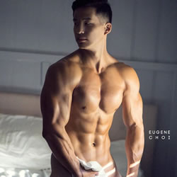 Muscle Stud Eugene Choi