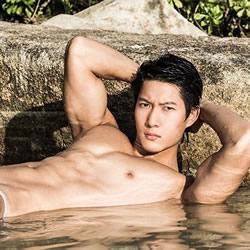 Muscular Model Josh Tay