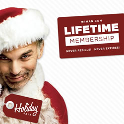 Mr. Man Lifetime Membership
