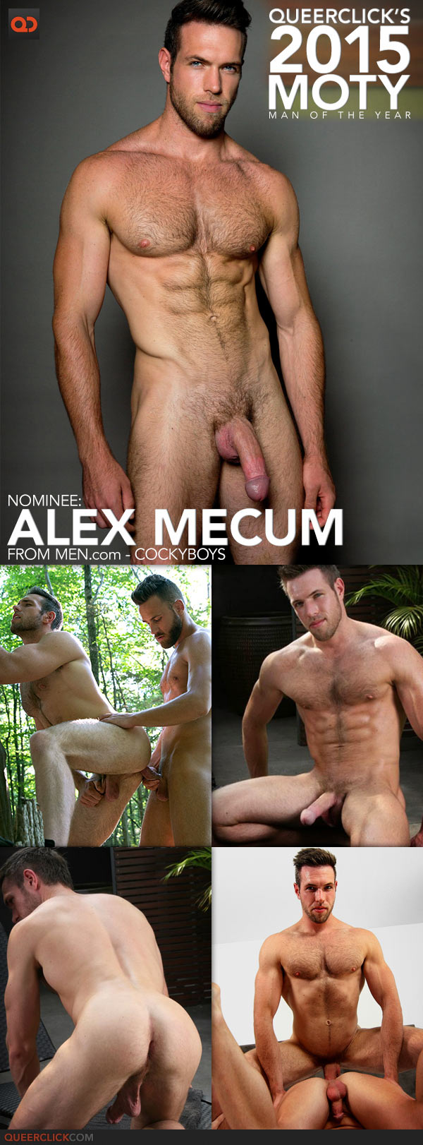 QueerClick's 2015 Man of the Year! Alex Mecum