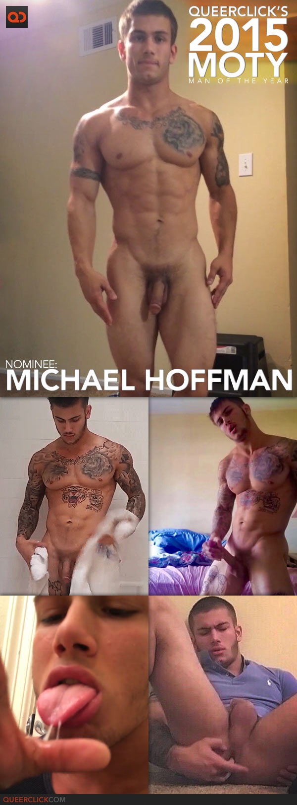 QueerClick's 2015 Man of the Year! Michael Hoffman
