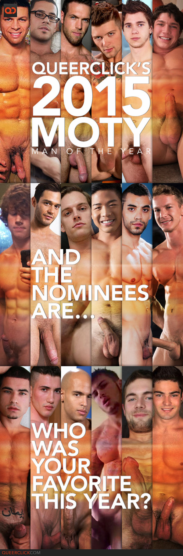QueerClick's 2015 Man of the Year! And The Nominees Are…