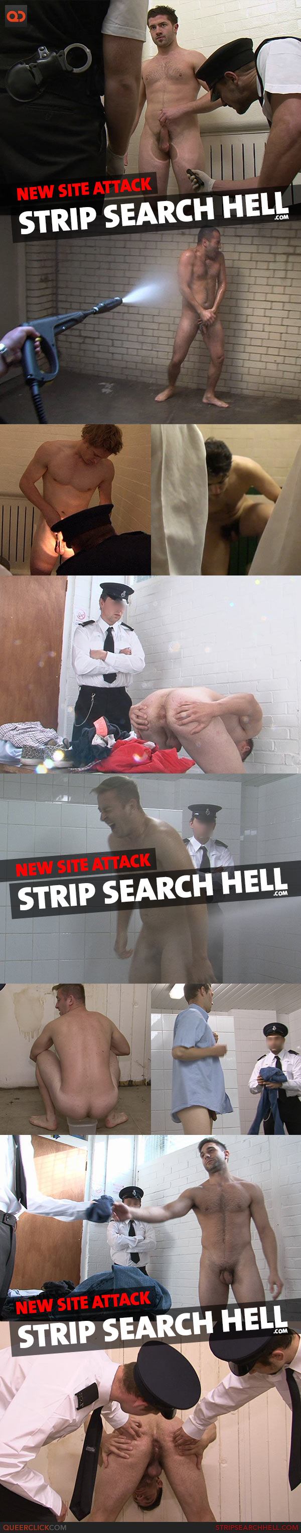 New Site Attack: Strip Search Hell