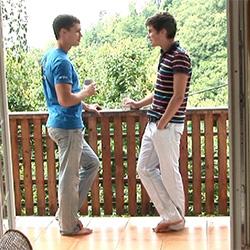 Bel Ami: Adam Archuleta and Jean-Daniel