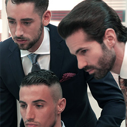 Men At Play: Massimo Piano, Klein Kerr & Dani Robles