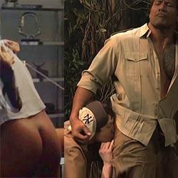 Dwayne johnson nude