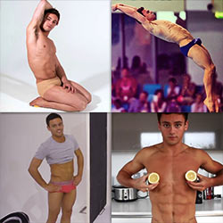 Five Times We Got Lost In Tom Daley's Cuteness (And Sexiness!)
