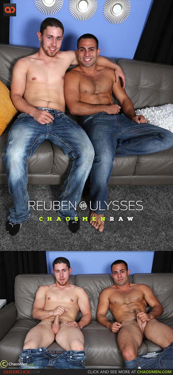 ChaosMen: Reuben and Ulysses Flip Fuck - Bareback