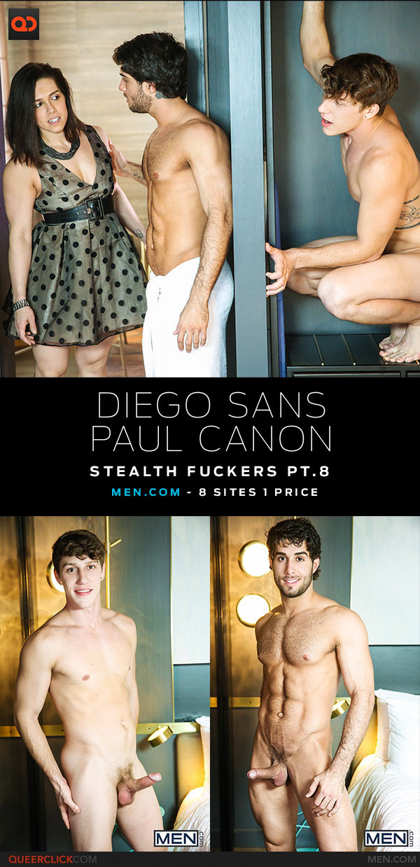 Men.com: Diego Sans Fucks Paul Canon - Stealth Fuckers Pt. 8
