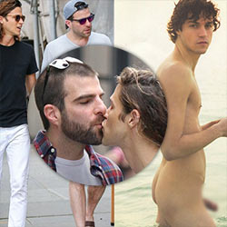 Mcmillan naked miles Zachary Quinto