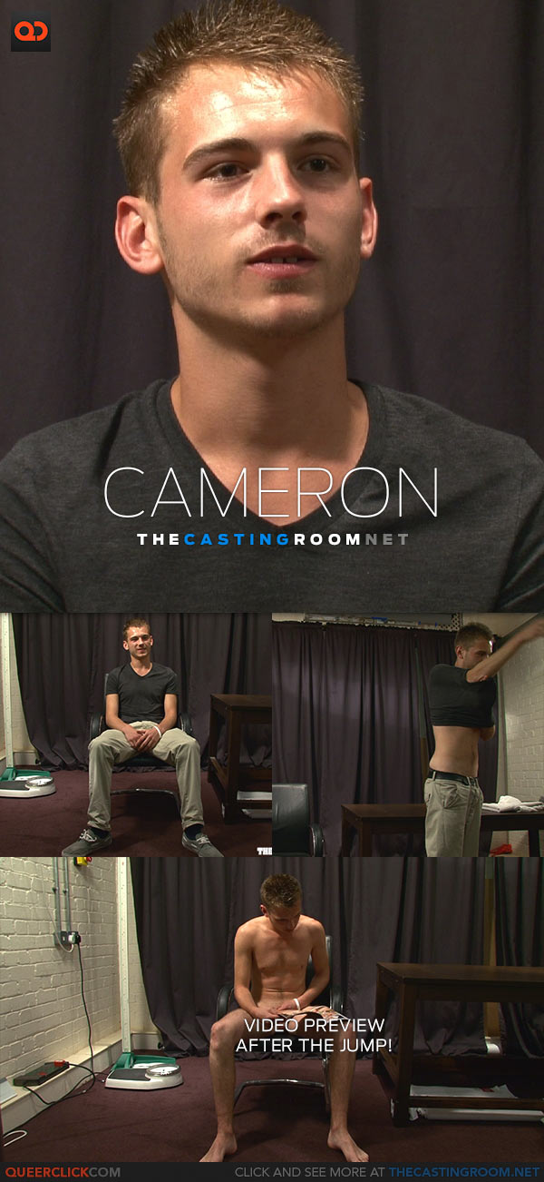 The Casting Room: Cameron