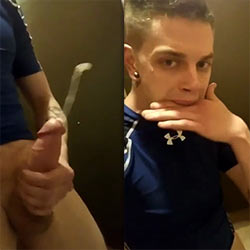 Have You Ever Used The Cubicle Of A Public Bathroom To Jerk Off?