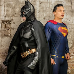 Men.com: Batman V Superman – A Gay XXX Parody Part 3 with Allen King, Dario Beck, Massimo Piano, Topher Di Maggio & Trenton Ducati