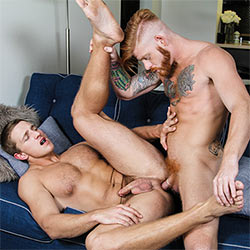 Men.com: Bennett Anthony Fucks Landon Mycles – Stealth Fuckers Part 11