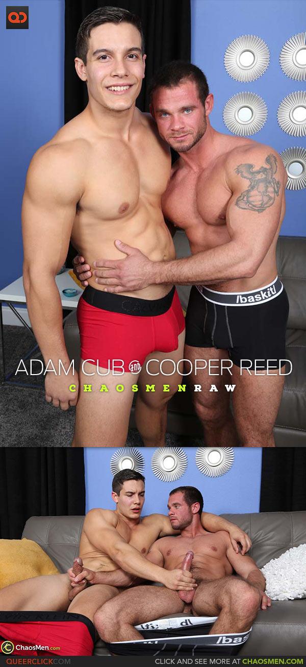 ChaosMen: Adam Cub Fucks Cooper Reed - Bareback