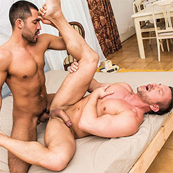 Lucas Entertainment: Gabriel Taurus Fucks Tomas Brand – Bareback