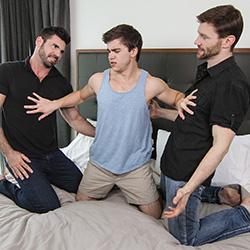 Men.com:  Billy Santoro, Dennis West and Will Braun
