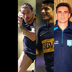 Four Argentine Football Players In Trouble For Leaked Naked Photos – Boca Juniors' Daniel Osvaldo And Sebastian Palacios, Racing FC's Ricardo Noir And Banfield AC's Fabian Noguera Cocks Exposed!