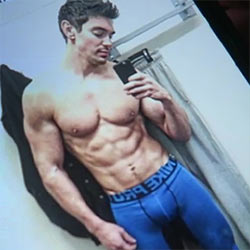 Steve Grand takes a seat with Davey Wavey for a chat but his bulge steals the show!