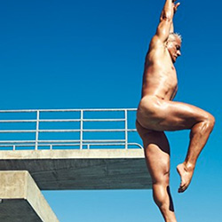 Queer Clicks: June 26, 2016 | Greg Louganis Goes Fully Nude For ESPN Magazine — At Age 56,  Skittles Is Officially Giving Its Rainbow to Us for Pride, & Other News